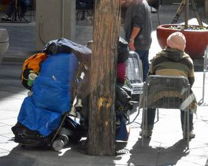 Denver's ordinance bans overnight camping without permission on public or private property.