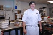 Chance Savell, Lead Banquet Cook at the Grand Hyatt.