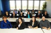 The team at Allied/Nationwide Insurance. The company focuses on two core values: that the company values people, and that its employees trust and respect each other.