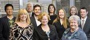 From GHP Horwath: Left to right, Michael Wei, Karen Rainey, Steven Levey, Doug Lestikow,  Holly Holt, Lauren Philpott, Amy Grove, Debbie Brown, Shelley Owens and Bruce Redmond.