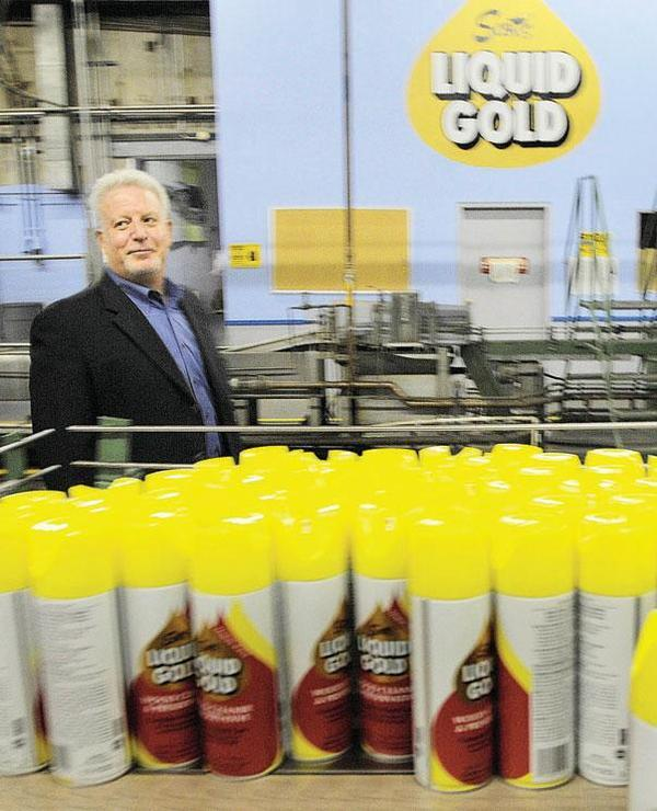 Mark Goldstein, Scott's Liquid Gold chairman, president and CEO (file).