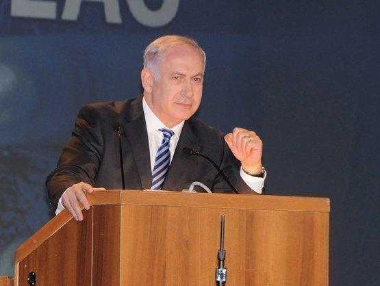 Israel'a Prime Minister Benjamin Netanyahu.