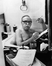 "Screenwriter Dalton Trumbo grew up in Colorado, studied at the University of Colorado and worked as a reporter for the Daily Camera in Boulder. While working as a screenwriter in Hollywood, Trumbo ran afoul of a congressional hunt for communists and he was blacklisted by the industry. He wrote ""Spartacus"" and ""Exodus"" and won Oscars under pseudonyms for two of his films: ""Roman Holiday"" and ""The Brave One."""