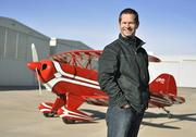 Chris Leach, attorney at Moye White, flies his aerobatic plane  competitively. He hangars the plane at Rocky Mountain Metro Airport in  Broomfield.