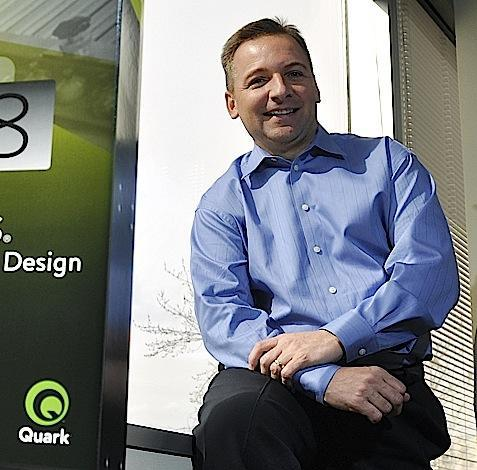 Ray Schiavone, president and CEO of Quark Inc. in Denver, in a 2009 photo.