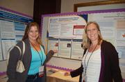 Left, Jodi Dooling-Litfin, director, child and family programs and Lori Helmstetter, speech-language pathologist at Rocky Mountain Human Services at the NADD (National Association for Persons with Developmental Disabilities) conference in Denver in October. Dooling-Litfin and Helmstetter presented the poster at the conference about RMHS's ACT (Assessment and Consultation Team) program.