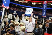 Colorado Attorney General John Suthers makes his preference known Wednesday at Republican National Convention in Tampa.