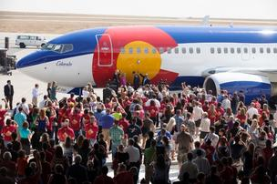 Southwest Airlines unveiled Colorado One in Denver on Wednesday, Aug. 22, 2012.