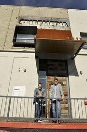 SpireMedia's Michael Gellman, CEO and Adam Hasemeyer, vice president of business development.