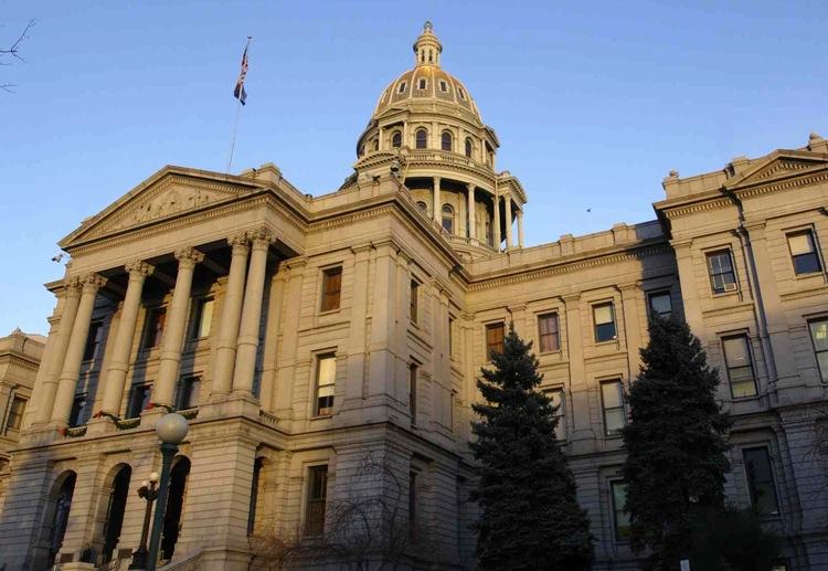 The Colorado state Capitol in Denver (file photo)