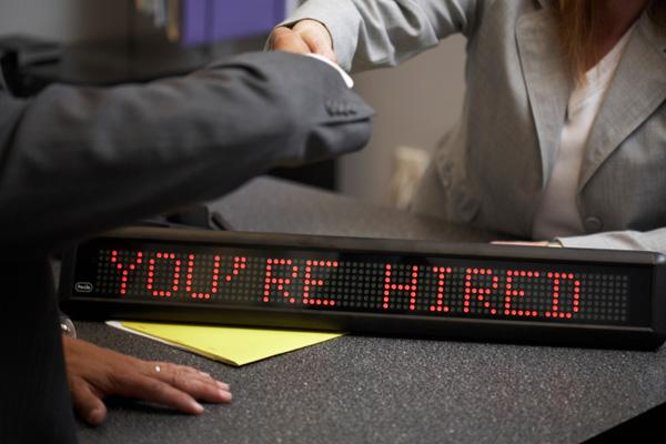 Private-sector employers are leading the way in new job creation in Texas.