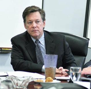 Trace Devanny, outgoing chairman and CEO of TriZetto Corp. (file)