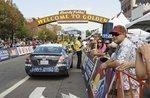 Golden cheers USA Pro Challenge racers: slideshow