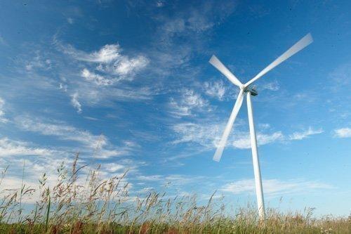 Vestas' model model V112-3.0 MW wind turbine.