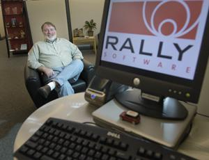 Rally Software CEO Tim Miller in a 2010 photo.