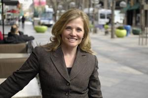 Downtown Denver Partnership president/CEO Tami Door (2010 photo)