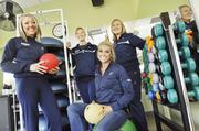 Amgen ranked No. 1 in the large-size business category. Kathleen Lavine | Business JournalAmgen in Longmont has a gym on site — called PlusOne Health Management, Amgym Fitness Center — that is run by staff members (from left) Pamela St. Clair, exercise specialist; Stephanie Harms, exercise specialist; Diana Duncan, registered dietitian, and Marie DeFoe, general manager.