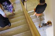CoBiz Financial ranked No. 2 in the large-size business category. Some CoBiz employees take to the stairs as part of their exercise routine.