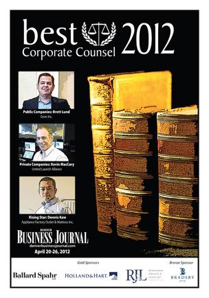 Photo gallery: Denver Business Journal announces Best Corporate Counsel winners