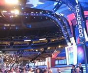 Opening day at the Democratic National Convention in Denver, 2008