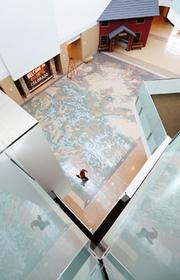 """History Colorado Center will featuer an interactive map that will give information through use of a """"time machine."""""""
