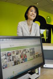 Emily Huang, Rivet Software, donates regularly to Kiva, an international organization connecting people through lending to alleviate poverty. Huang is the Outstanding Women in Business winner for High-Tech and Telecommunications.