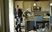 Robert Martin, vice president of finance and business development at MDC Holdings, in a model home in the Wheatlands development in Aurora.