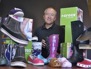 John McCarvel, Crocs Inc., is the 2012 Power Book winner for retail and