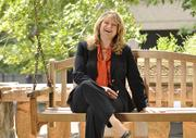 "WINNER: Small Business Owner — Janet McCracken is CEO of Employers Edge in Centennial. She said some of the universal ""unsinkable"" qualities that successful people have are an unstoppable determination to succeed and a disciplined work ethic. She says, ""I'm not naturally wired for leadership; I've had to learn to be an effective manager. But that's where the act of teaching other people to be a true leader has actually made me much better at it."" McCracken sits on a porch swing outside the Molly Brown House museum."