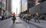 The National Western Stock Show parade took place in downtown Denver, Thursday, January 5th at noon.