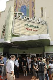 The TechStars Demo Day made for an unusually busy Thursday morning at the Boulder Theater -- often a venue for rock concerts -- in sunny downtown Boulder. About 400 tech investors and entrepreneurs filled the theater's main floor, while another 200 volunteers, friends and community members watched startup presentations from the theater's balcony.