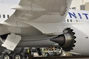 Fifty percent of United's new Boeing 787 Dreamliner, including the fuselage and wings, is made of composite materials which is more durable than traditional metal materials and requires less maintenance.