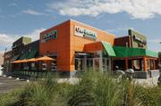At University Hills Plaza, a complete overhaul of the water, sewer, gas and power utilities was necessary to make the former Blockbuster space usable for restaurants, which DH&L studies show were needed in the area. Panera Bread and Garbanzo Mediterranean Grill are in the space now.