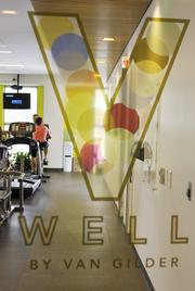 Van Gilder Insurance Co. ranked No. 2 in the medium-size business category. The company has an on-site fitness center.