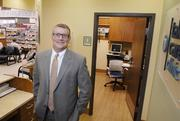 Paul Von Tol, Market Manager, Clinic Operations at Take Care Health Services, pictured in the clinic at Walgreens near 30th and Federal Blvd.