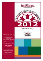Denver Business Journal's 2012 Partners in Philanthropy awards: The Process