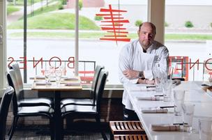 Frank Bonanno of Bonanno Concepts at his restaurant Bones (July 2011 photo).