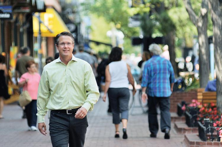 Aaron Kennedy, Colorado's first chief marketing officer, took office Aug. 6.