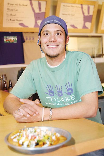 Ben Jacobs is co-owner of Tocabe, a Native American eatery. He worked at his parents' former restaurant, Grayhorse, as a child.