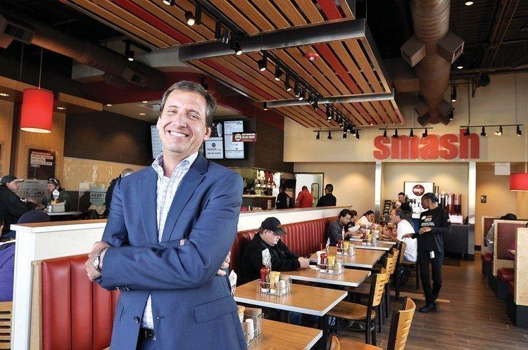 David Prokupek is CEO of Smashburger.