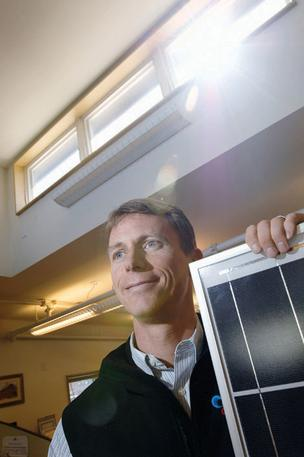 Blake Jones, president and CEO of Namaste Solar in Boulder.