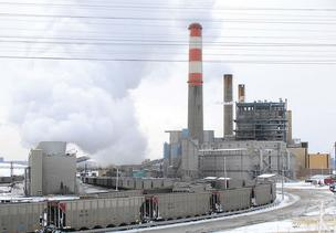 Xcel Energy's Cherokee Generating Station in Denver (file).
