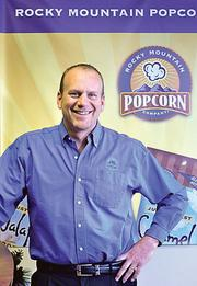 Tim Bradley, co-owner of Rocky Mountain Popcorn Co., says a critical step in expanding the product's reach was building up a network of some 300 sales brokers.