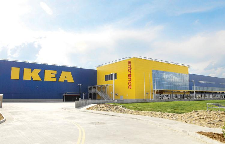 The new 415,000-square-foot Ikea store is west of Interstate 25 between County Line and Dry Creek roads in Centennial. It will open July 27.