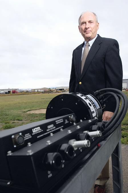 William Rankin is president and CEO of UQM Technologies in Longmont.
