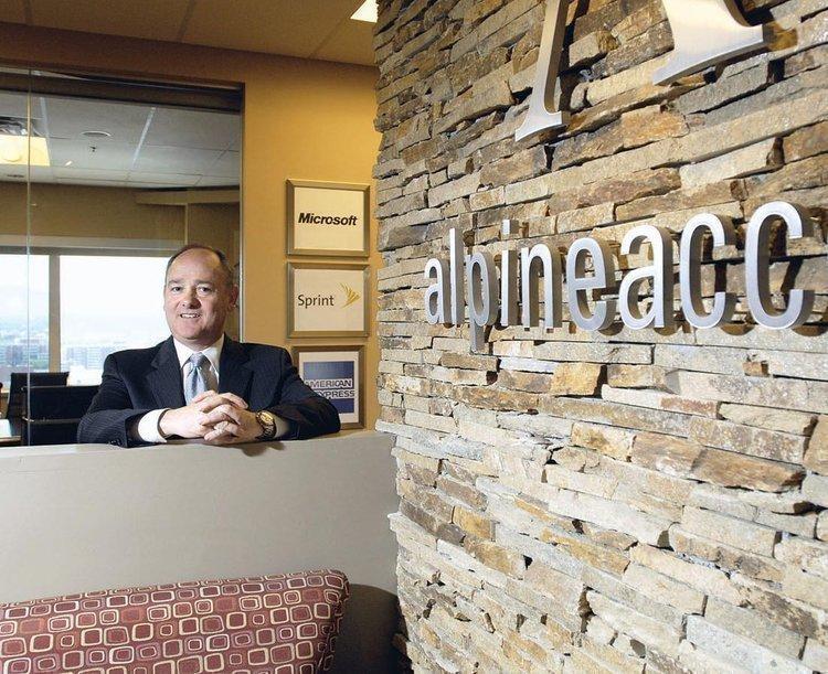 Alpine Access CEO Christopher Carrington in an April photo.