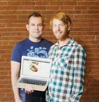 Martin May and Brady Becker, co-founders of Forkly.