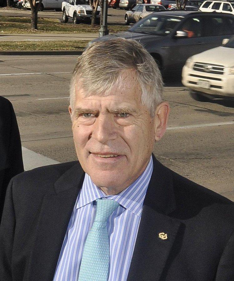 Don Elliman, CU Denver's interim chancellor.