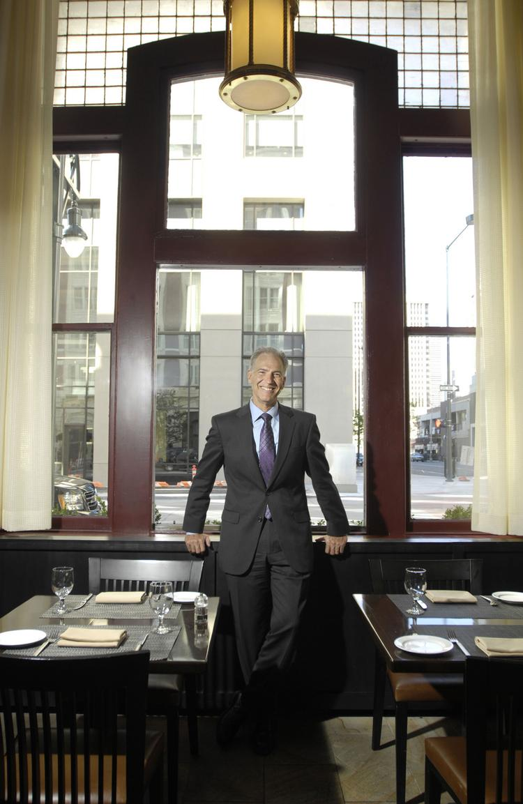Jim Turner, general manager of the Hotel Teatro, has a passion for history and offers visitors behind-the-scenes looks at the hotel.