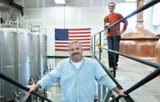 Corey Marshall, co-founder and CEO, and Andrew Friedman, chairman and co-founder, of Tivoli Distributing Co., which brews its beer at Prost Brewing Co.
